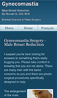 Montreal Male Breast Surgery