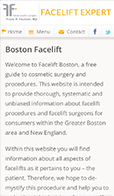 Boston Facelift