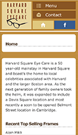 Harvard Square Eyecare Glasses Lenses